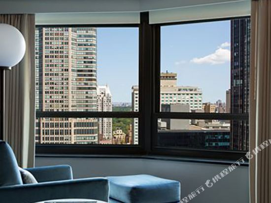 紐約市中心希爾頓酒店(New York Hilton Midtown)天際大床房