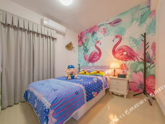 Q加·泰萊童趣主題公寓(珠海橫琴海洋王國店)(Q+ Tailai Tongqu Theme Apartment (Zhuhai Chimelong Ocean Kingdom))東南亞風情三房兩廳