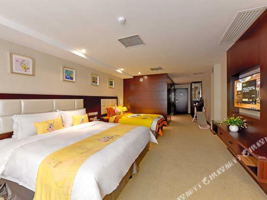 薩維爾金爵·鹿安酒店(上海國際旅遊度假區浦東機場店)(Savile Knight Lu'an Hotel (Shanghai International Tourism and Resorts Zone Pudong Airport))頑皮小海綿主題親子房
