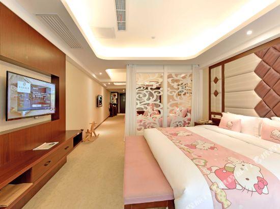 薩維爾金爵·鹿安酒店(上海國際旅遊度假區浦東機場店)(Savile Knight Lu'an Hotel (Shanghai International Tourism and Resorts Zone Pudong Airport))粉色小公主主題親子房