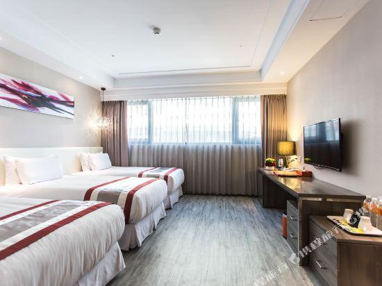 高雄蒂亞飯店-愛河館(Hotel-D)標準三人房