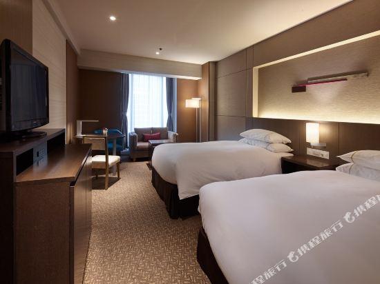 大阪都喜來登酒店(Sheraton Miyako Hotel Osaka)舒適尊貴雙床房