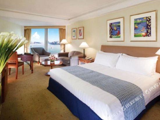 香港九龍海逸君綽酒店(Harbour Grand Kowloon)海景房-帶加床