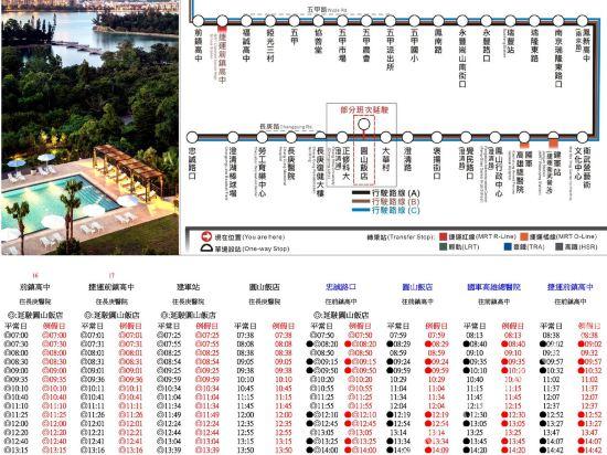 高雄圓山大飯店(The Grand Hotel)停車場
