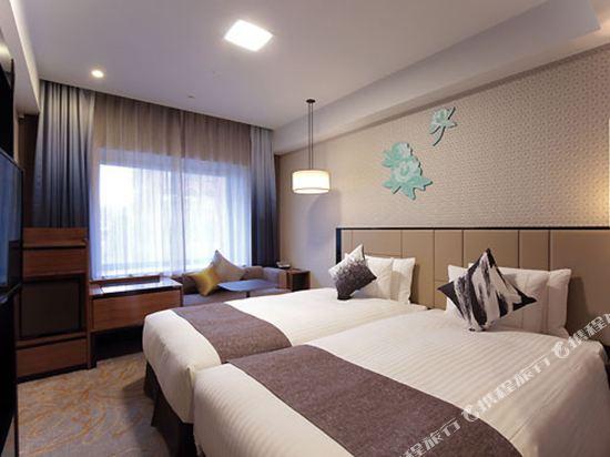 京都四條皇家花園酒店(2018年4月新開業)(The Royal Park Hotel Kyoto Shijo(New Open))標準尊貴雙床房