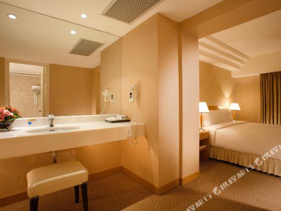 台北神旺大飯店(San Want Hotel)特斯拉商務雙人套房