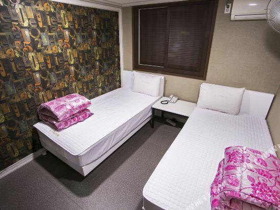 釜山站特級旅館(Top Motel Busan)標準雙床房