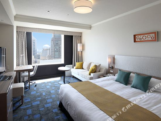 東京東急澀谷卓越大飯店(Shibuya Excel Hotel Tokyu Tokyo)高級尊貴大床房