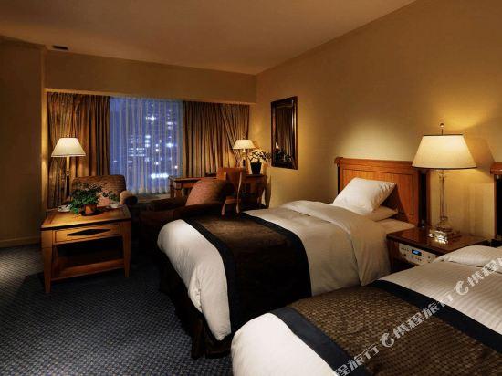 大阪麗嘉皇家酒店(Rihga Royal Hotel)塔翼-豪華樓層-豪華雙床房