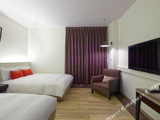 台中寶島53行館(53 Hotel)精緻家庭房