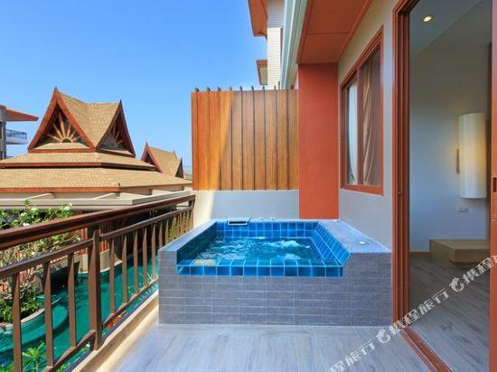 艾瑞斯華欣酒店(Ayrest Hua Hin Hotel)頂級豪華房(按摩浴缸)