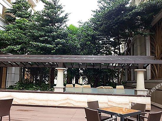 澳門銀河酒店(Galaxy Hotel)院子