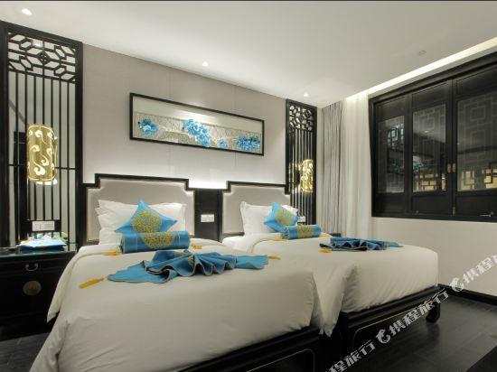 夢景望月精品酒店(昆明南屏步行街店)(Mengjing Wangyue Boutique Hotel (Kunming Nanping Pedestrian Street))精品雙床房