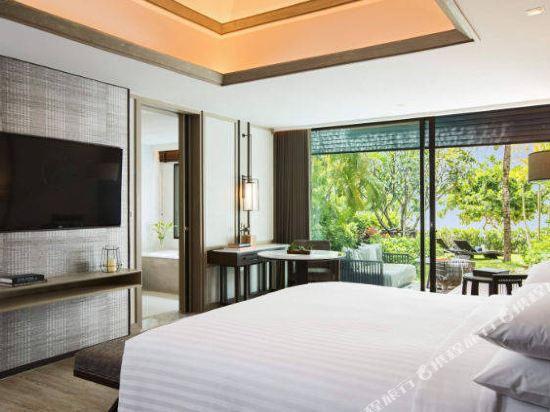 普吉島萬豪奈陽海灘水療度假村(Phuket Marriott Resort and Spa, Nai Yang Beach)海灘一臥套房