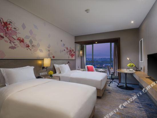 中山利和希爾頓花園酒店(Hilton Garden Inn (Zhongshan Lihe))標準雙床房