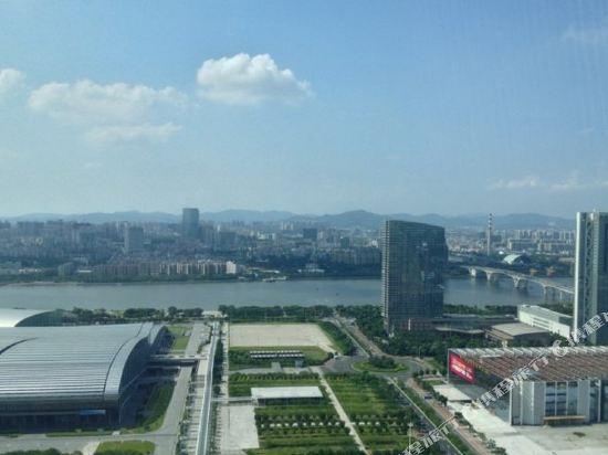 嘻哈商務公寓(廣州琶洲保利世貿店)(Hiphop Business Apartment (Guangzhou Pazhou Baoli Shimao))眺望遠景