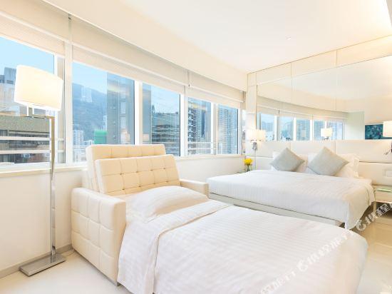 香港富薈灣仔酒店(iclub Wan Chai Hotel)商薈Deluxe加梳化床