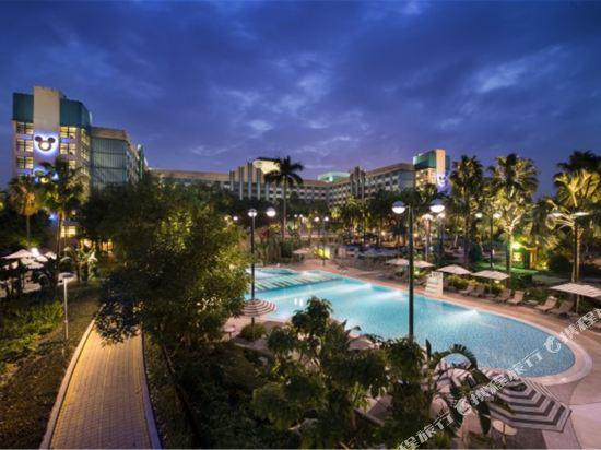 迪士尼好萊塢酒店(Disney's Hollywood Hotel)室外游泳池