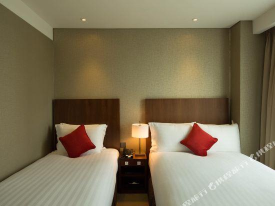 釜山索拉利亞西鐵酒店(Solaria Nishitetsu Hotel Busan)經濟雙人房