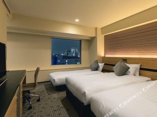 札幌ANA皇冠假日酒店(ANA CROWNE PLAZA SAPPORO)舒適三人房