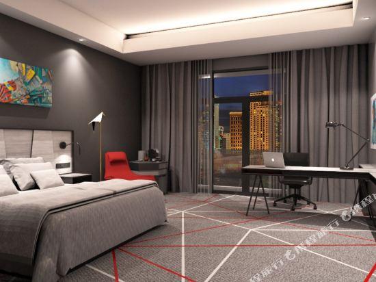 吉隆坡紅酒店(Red by Sirocco Kuala Lumpur)天后行政特大床房