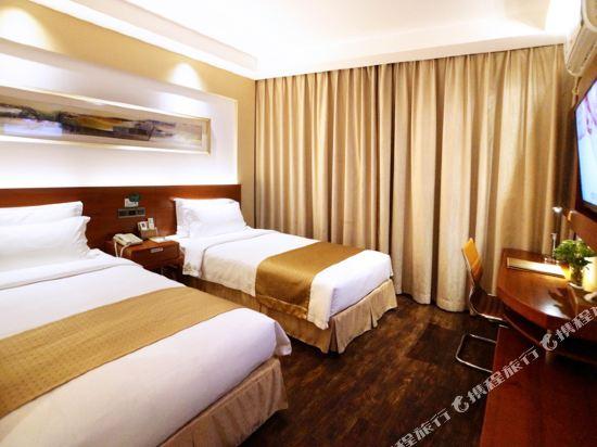 麥新格精品酒店(上海國際旅遊度假區浦東機場川沙店)(Maixin'ge Boutique Hotel (Shanghai International Tourism Resort Pudong Airport Chuansha))豪華雙床房