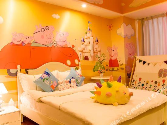 夢幻樂園親子主題公寓(廣州萬達廣場店)(Dreamland Family Theme Apartment (Guangzhou Wanda Plaza))小豬佩奇度假雙床房