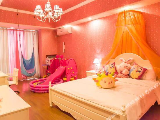 夢幻樂園親子主題公寓(廣州萬達廣場店)(Dreamland Family Theme Apartment (Guangzhou Wanda Plaza))主題大床房