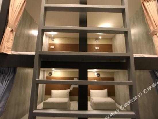 高雄壹品棧酒店(YPJ Hotel)揹包客房(1張床位)