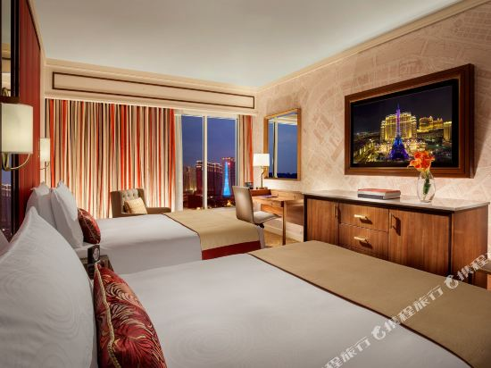 澳門巴黎人酒店(The Parisian Macao)豪華雙床房