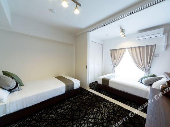 博多中央無限酒店(Infinity Hotel Hakata Chuo)雙床房