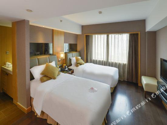 北京長白山國際酒店(Changbaishan International Hotel)高級雙床房