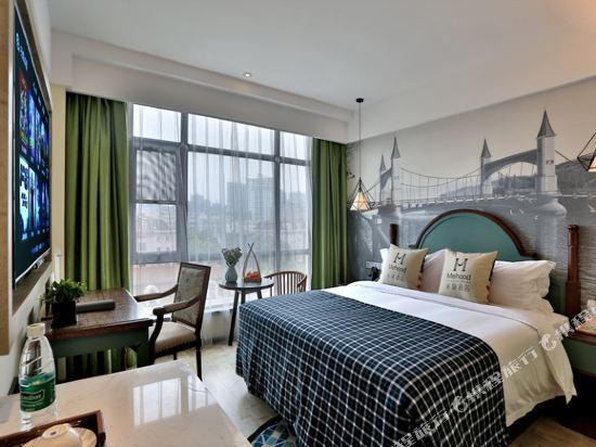 美豪酒店(常州恐龍園旗艦店)(Mehood Hotel (Changzhou Dinosaur Park Flagship))英倫風情大床房