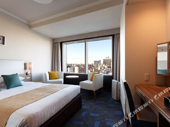 東京東急澀谷卓越大飯店(Shibuya Excel Hotel Tokyu Tokyo)園景高級大床房