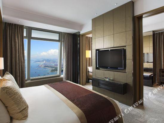 香港麗思卡爾頓酒店(The Ritz-Carlton Hong Kong)豪華套房