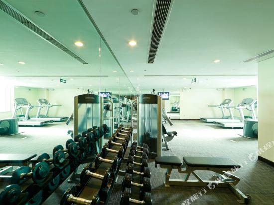 北京金融街行政公寓(Financier Executive Residence)健身房