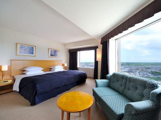 札幌艾米西亞酒店(Hotel Emisia Sapporo)天際轉角雙床房