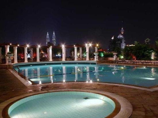 吉隆坡雙威太子大酒店(Sunway Putra Hotel, Kuala Lumpur)室外游泳池