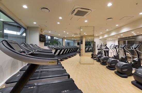 東京希爾頓酒店(Hilton Tokyo)健身房