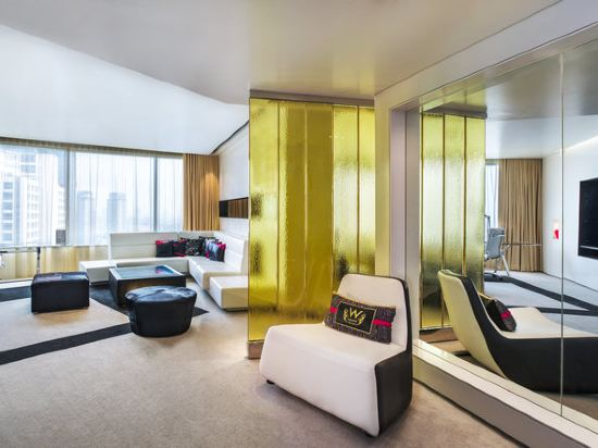曼谷W酒店(W Bangkok Hotel)奇幻套房