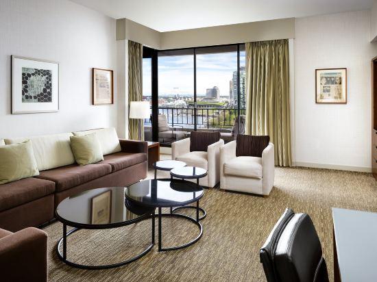 海柏温哥華威斯汀酒店(The Westin Bayshore Vancouver)全景套房塔樓