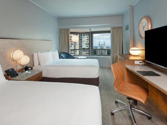 紐約市中心希爾頓酒店(New York Hilton Midtown)天際兩張雙人床房