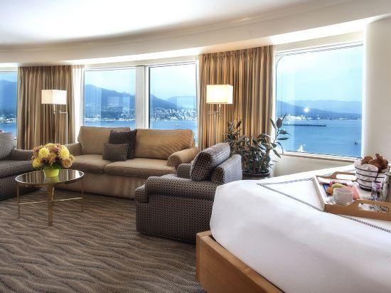 温哥華泛太平洋酒店(Pan Pacific Vancouver)海港全景客房