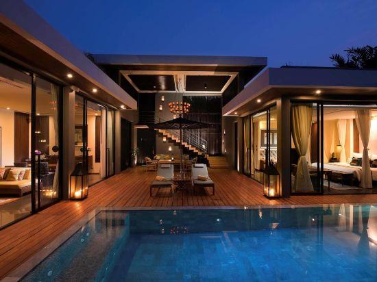 美憬閣索菲特華欣V別墅酒店(V Villas Hua Hin - MGallery by Sofitel)兩卧室泳池別墅套房
