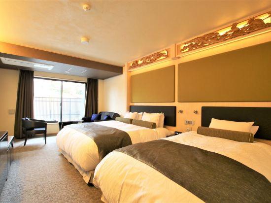 京都雅然居酒店(祇園)(Hotel Alza Kyoto)豪華舒適雙床房