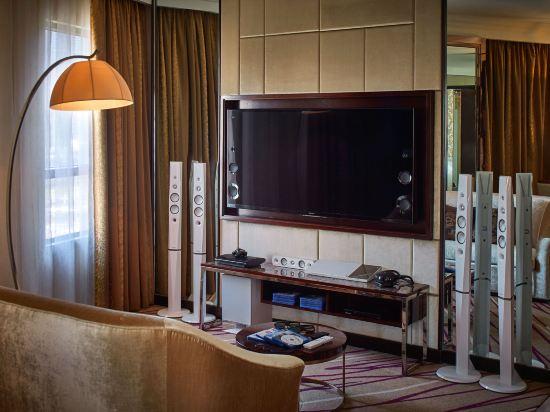 香港灣仔帝盛酒店(Dorsett Wanchai)索尼套房