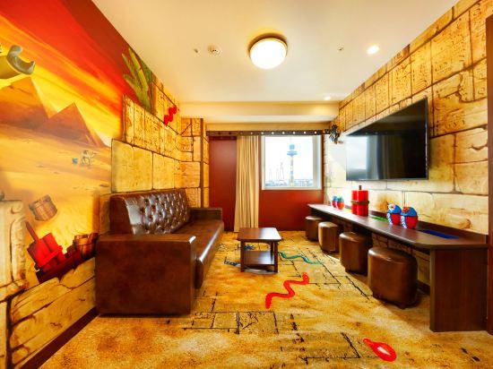 日本樂高樂園酒店(Legoland Japan Hotel)景觀探險主題套房