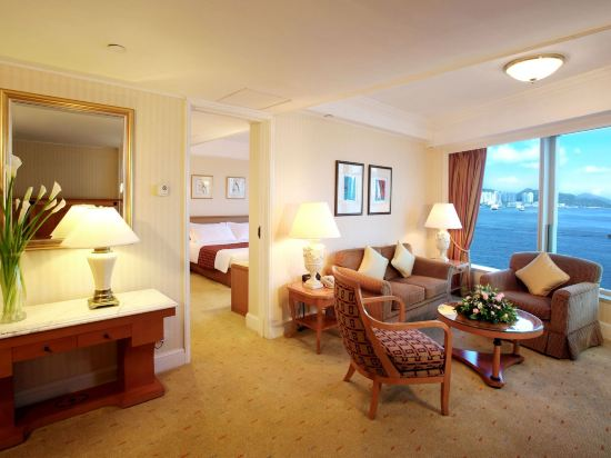 香港九龍海逸君綽酒店(Harbour Grand Kowloon)海景套房