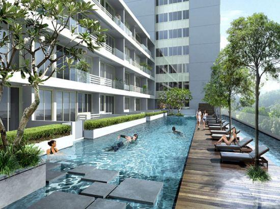 新加坡帝盛酒店(Dorsett Singapore)室外游泳池