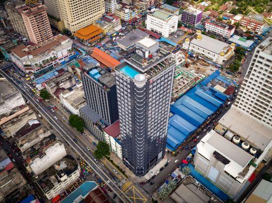 吉隆坡東姑阿都拉曼南希爾頓花園酒店(Hilton Garden Inn Kuala Lumpur Jalan Tuanku Abdul Rahman South)外觀